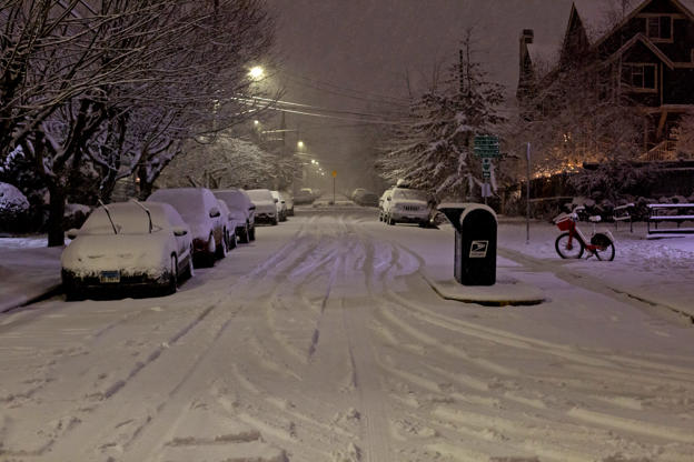 Seattle Nearly Reached Its Yearly Amount Of Snowfall In A Day