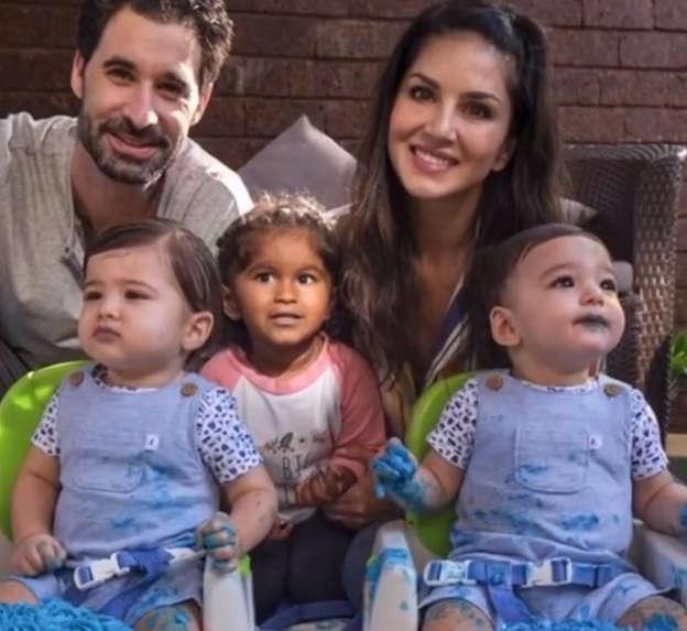 Sunny Leone celebrates birthday of sons Noah and Asher, shares