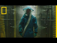 a person standing in front of a store: In 1989, Ebola landed on U.S. soil. After appearing in a research lab in D.C., a heroic U.S. Army scientist put her life on the line to prevent an outbreak. Inspired by true events and starring Julianna Margulies, THE HOT ZONE premieres this Memorial Day. ➡ Subscribe: http://bit.ly/NatGeoSubscribe  About National Geographic: National Geographic is the world's premium destination for science, exploration, and adventure. Through their world-class scientists, photographers, journalists, and filmmakers, Nat Geo gets you closer to the stories that matter and past the edge of what's possible.  Get More National Geographic: Official Site: http://bit.ly/NatGeoOfficialSite Facebook: http://bit.ly/FBNatGeo Twitter: http://bit.ly/NatGeoTwitter Instagram: http://bit.ly/NatGeoInsta  The Hot Zone: Official Trailer | National Geographic https://youtu.be/6YxNYnHTxAg  National Geographic https://www.youtube.com/natgeo