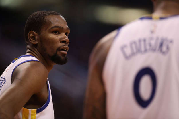 Durant's excuse for getting mad at media is beyond ironic