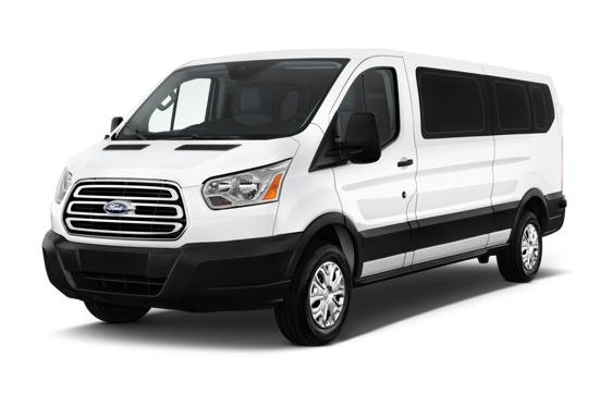 Slide 1 of 5: 2019 Ford Transit Passenger Van
