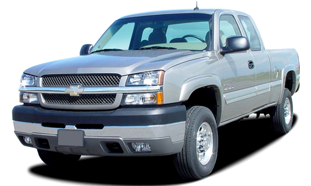 Slide 1 of 10: 2004 Chevrolet Silverado 2500HD