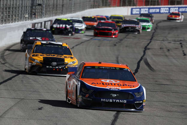 Keselowski powers through illness to win at Atlanta