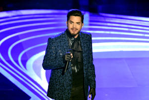 HOLLYWOOD, CALIFORNIA - FEBRUARY 24: Adam Lambert performs onstage onstage during the 91st Annual Academy Awards at Dolby Theatre on February 24, 2019 in Hollywood, California. (Photo by Kevin Winter/Getty Images)
