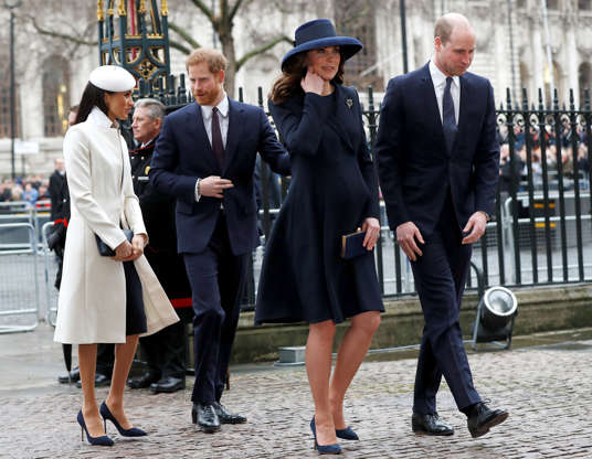 f140382d1 Prince Harry, Meghan Markle Won't Make William, Kate Baby's Godparents