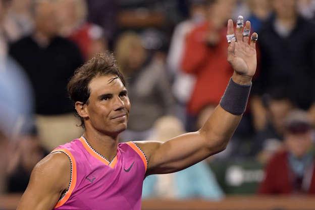 d5a304f15 Nadal, Federer, Isner dominate at Indian Wells