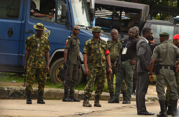 Vote tensions as Nigeria army blocks counting in volatile state