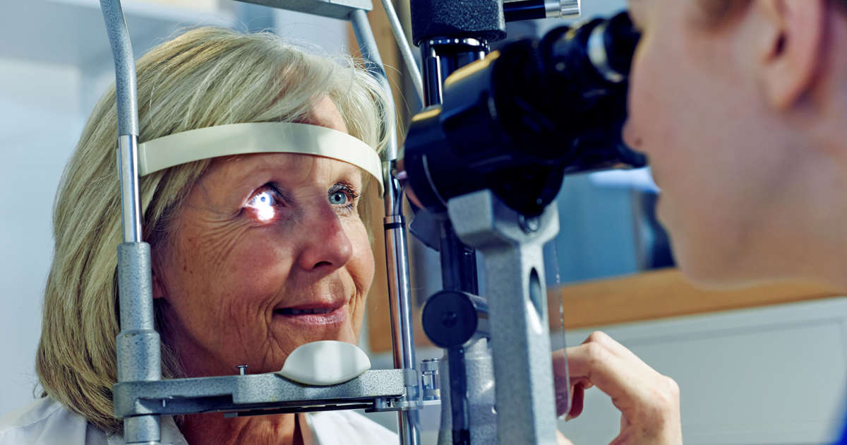 Eye exam detects signs of Alzheimer's disease
