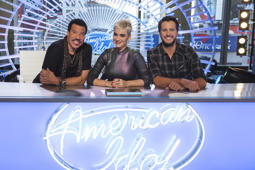 AMERICAN IDOL - ABC's 'American Idol' judges Lionel Richie, Katy Perry and Luke Bryan. (Eric Liebowitz/ABC via Getty Images)