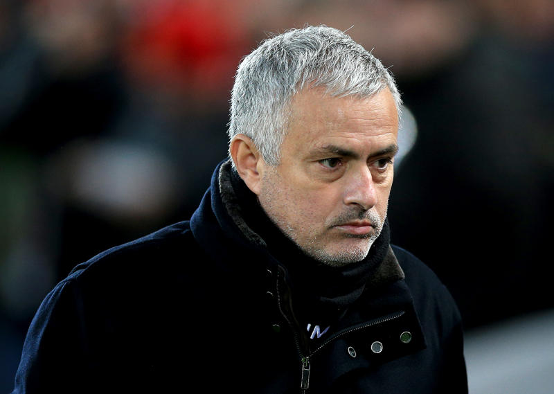 File: Manchester United manager Jose Mourinho during the Premier League match at Anfield, Liverpool. (Photo by Peter Byrne/PA Images via Getty Images)