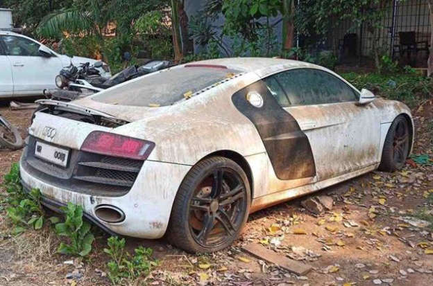 Virat Kohli S Former Audi R8 S Present Condition Will Leave You