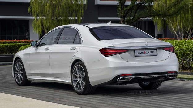 Des Rendus Realistes De La Nouvelle Mercedes Classe S