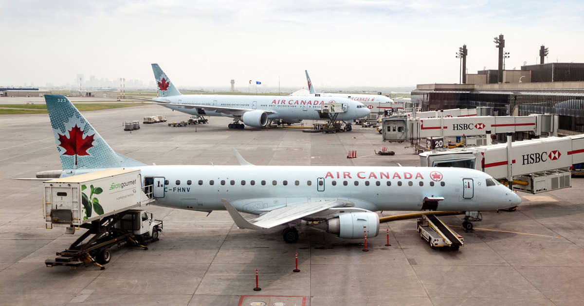 Canadian airline shares hit by Boeing crash