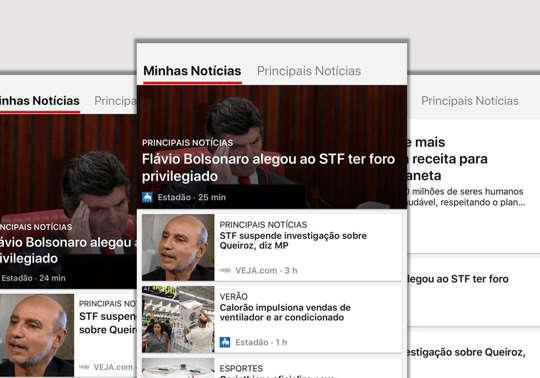 Disponível para iOS e Android: Templates - App Microsoft Notícias (for spotlight promo)