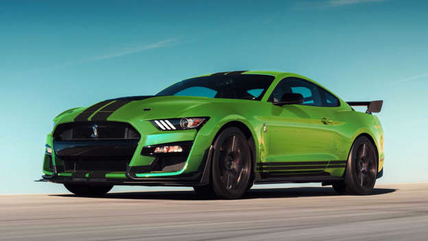 Ford Mustang gets grabber lime paint in honour of St  Paddy's Day