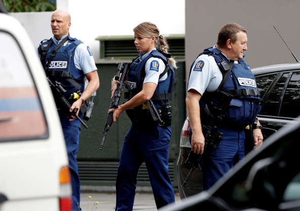 "New Zealand Police Hunt ""Active Shooter"" After Gunman Opens Fire At Mosque BBUNbws"