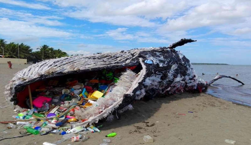 BBUUng6 - Dolphin died due to plastic - Press Release Philippines