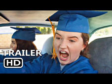 a boy wearing a blue hat: BOOKSMART Official Trailer Movie in theatre May 24.  © 2019 - Annapurna Pictures
