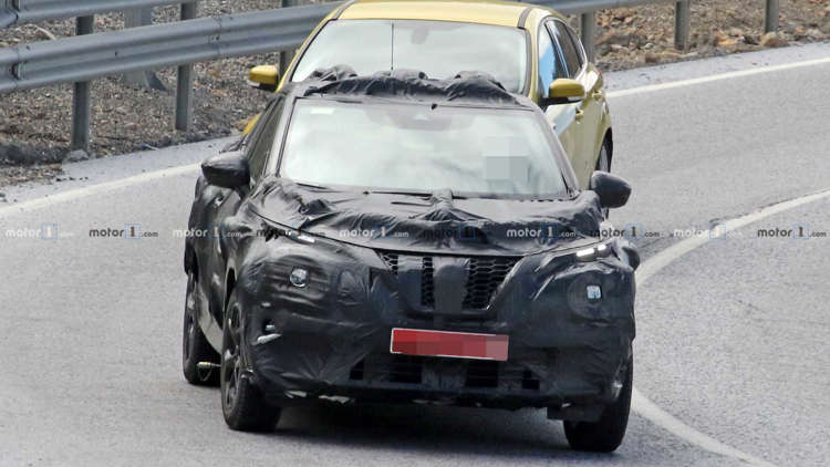 2020 Nissan Juke Spied With Camo That S Just As Funky