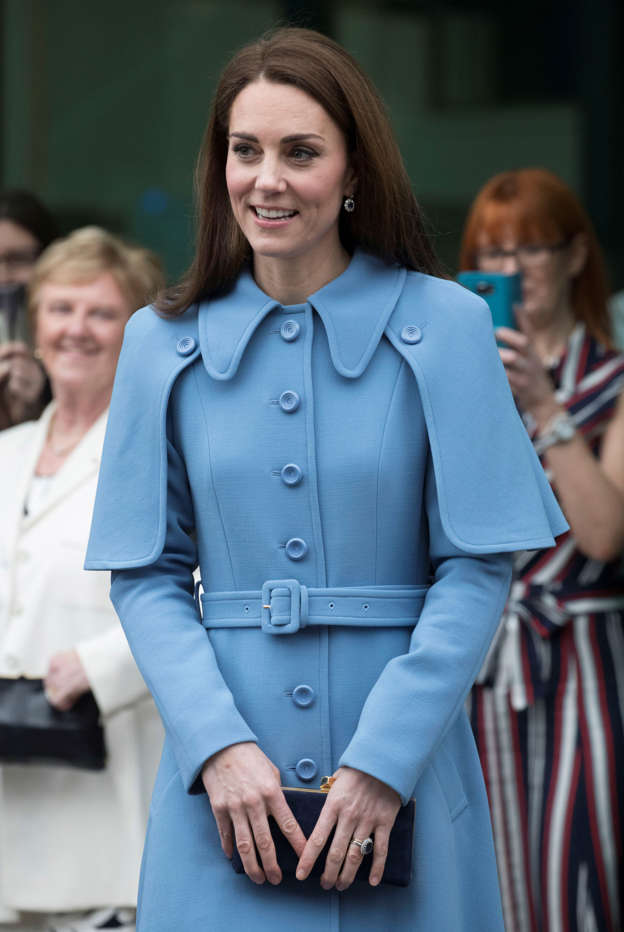 I'm feeling broody': Kate coos over a five-month-old baby during