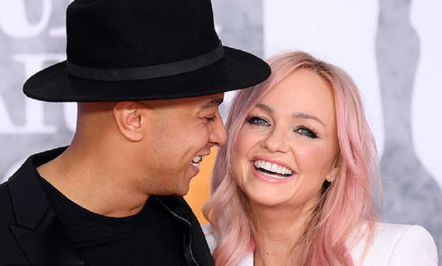 Emma Bunton and Jade Jones finally 'tie-the-knot' as they
