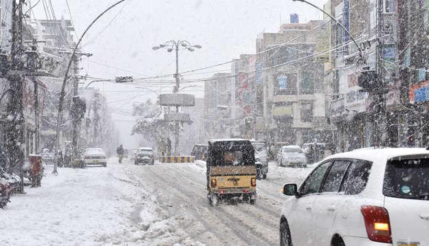 Rain, snowfall: 14 die in in Balochistan, Waziristan