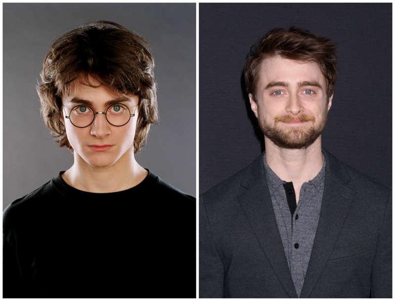 Daniel Radfliffedavida al protagonista de la saga, Harry Potter.  Empezócon 11 años y desde entonces no ha parado de realizar trabajos en  cine y teatro.