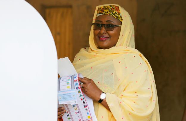 Image result for Aisha Buhari  AISHAT BUHARI 'FINALLY' ACKNOWLEDGES MASSIVE CORRUPTION UNDER HER HUSBAND'S WATCH BBUtuXU