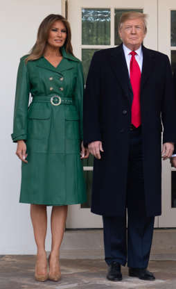 7761bcfea2b Slide 4 of 202  S President Donald Trump and First Lady Melania Trump  welcome Czech