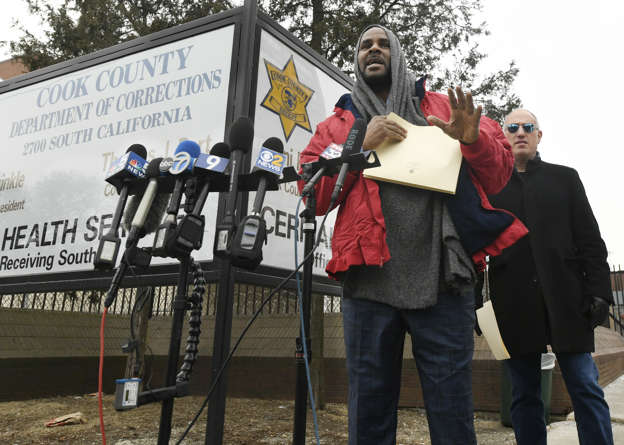 R  Kelly Released From Jail After Paying Child Support