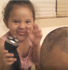 Little girl gets revenge after dad scares her!