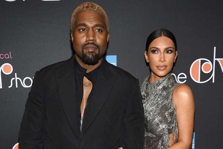 Kanye West & Kim Kardashian Host 'Yeezy Lemonade Stand' For