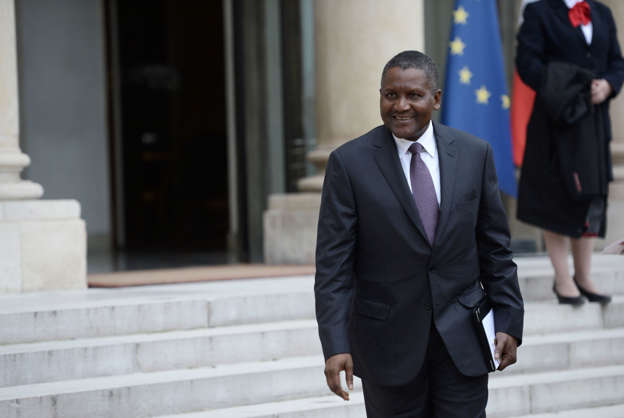 Africa's richest man withdrew $10 million just to look at it