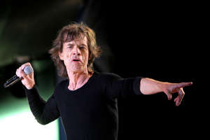 London, April 3, 2019 - The Rolling Stones frontman Mick Jagger will undergo surgery this week in New York to replace a heart valve, with the band postponing the North American leg of No Filter tour as a result. FILE Image - Mick Jagger performs during the Rock in Rio Lisbon 2014 music festival, in Lisbon, Portugal on May 29, 2014.  (Photo by Pedro Fiúza/NurPhoto via Getty Images)