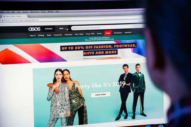 63d1d29698 Asos profit shrivels in 'disappointing' half