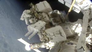 'Unwanted' visitors on the International Space Station