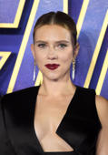 LONDON, ENGLAND - APRIL 10: Scarlett Johansson attends the 'Avengers Endgame' UK Fan Event at Picturehouse Central on April 10, 2019 in London, England. (Photo by Karwai Tang/WireImage)