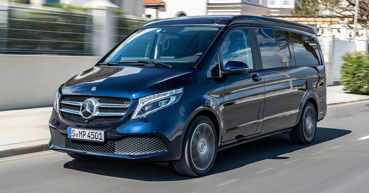 2019 Mercedes-Benz V-Class Marco Polo first drive: Explore