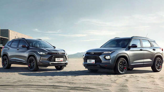 Chevrolet Trailblazer And Tracker Debut Modern Looks In China