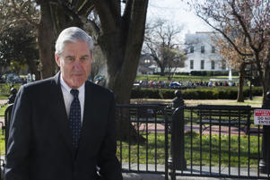 Special Counsel Robert Mueller walks past the White House, after attending St. John's Episcopal Church for morning services, Sunday, March 24, 2019 in Washington. Mueller closed his long and contentious Russia investigation with no new charges, ending the probe that has cast a dark shadow over Donald Trump's presidency. (AP Photo/Cliff Owen)
