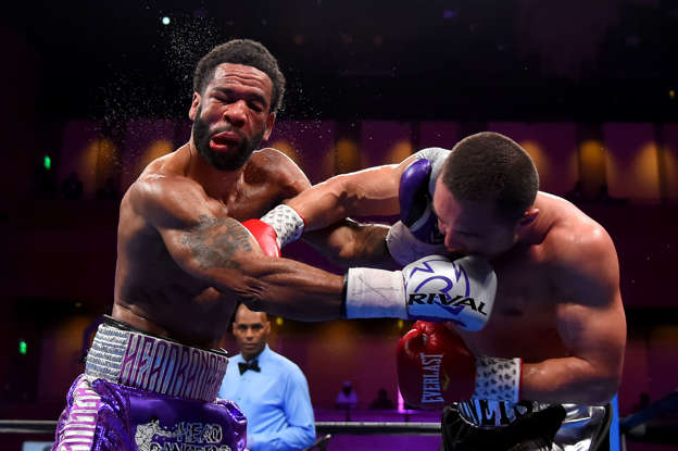 Image result for lamont peterson sergey lipinets knockdown