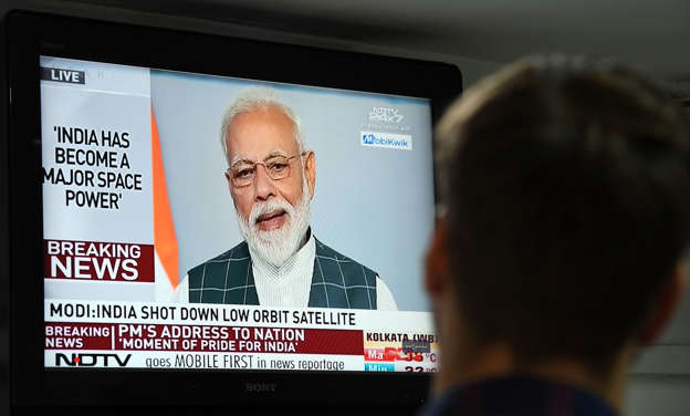India shoots down satellite, declares itself a space power