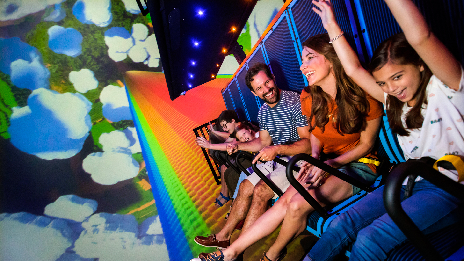 """Slide 2 of 21: Location: Winter Haven, Florida Admission price: $80.99+ Ride opening: March 27, 2019 If you and your little ones are fans of """"The Lego Movie,"""" you'll love Legoland's newly opened area, The Lego Movie World, in which Bricksburg and all of its colorful characters are brought to life. The area offers mascot photo ops, unique dining experiences, shops and some of the best theme park rides around. Help save the city from Duplo alien invaders on the water ride Battle of Bricksburg. You'll spray the Lego-stealing aliens with your water gun in order to save the day. Then, head over to The Masters of Flight to soar on Emmet's Triple Decker Couch through Cloud Cuckoo Land, Middle Zealand and Pirate's Cove. Guests are suspended under a full-dome virtual screen that gives the realistic sensation of flying. The Lego Movie World has these and other fun, new theme park rides that make admission well worth the cost. Check Out: The Priciest Theme Park Tickets Around the Globe"""