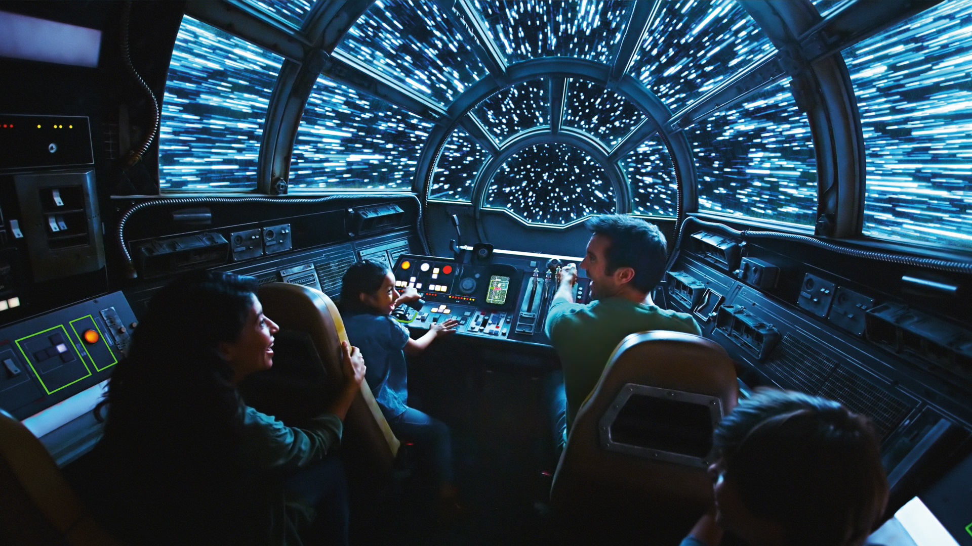 Slide 6 of 21: Location: Anaheim, California Admission price: $104+ Ride opening: May 31, 2019 Since it was announced on Aug. 15, 2015, fans have eagerly awaited the opening of Star Wars: Galaxy's Edge, a land inspired by George Lucas' iconic sci-fi film series. The area promises a hangar bay filled with galactic treats, a realistic cantina, several exciting shops — including one that sellsporgs, everyone's favorite bird creature — and, of course, the famous Millennium Falcon. When you're ready for an adventure, board Han Solo's signature ship for your very own hyperspace smuggling mission. Not sure you can hack it as a crewmember aboard the fastest ship in the galaxy? Don't worry, skilled pirate Hondo Ohnaka will help you out along the way. Fortunately, he isn't picky when it comes to his crew's previous smuggling experience — or lack thereof. Given the fact that you get to hop into a world beloved by all since the '70s, the price is definitely worth it. Just bear in mind that reservations are required for visits between May 31, 2019, and June 23, 2019, and access may be limited based on guest demand. Fun Fact: Here's How Much It Cost to Go to Disney World the Year You Were Born