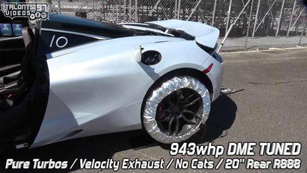 World's fastest McLaren 720S covers quarter mile in 8 9 seconds