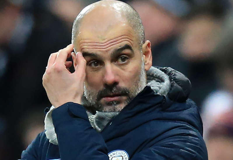 """""""My experience is not to look at the neighbour (Liverpool) too much because it's a huge mistake,"""" Guardiola said."""