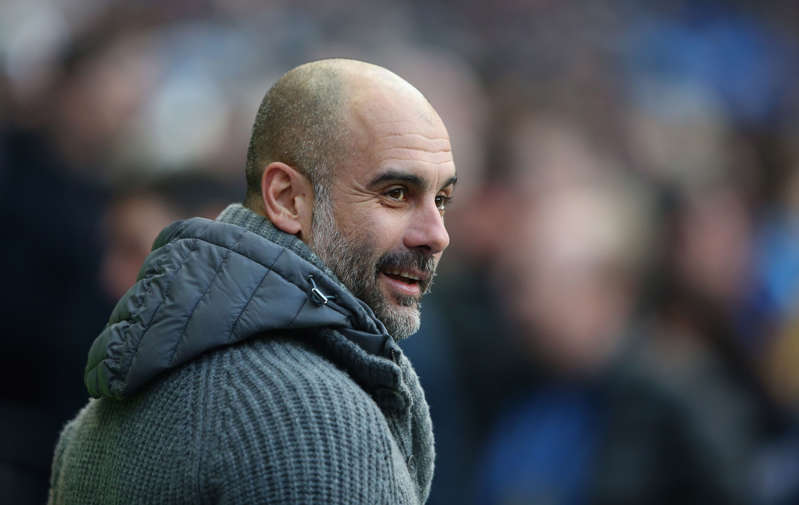 City are in a tight race with Liverpool for the Premier League championship, as they aim to become the first team to retain their title since Manchester United in 2007-08 and 2008-09.