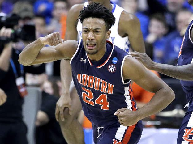 cbdeac10c0b Auburn tops Kentucky 77-71 in OT for first Final Four trip