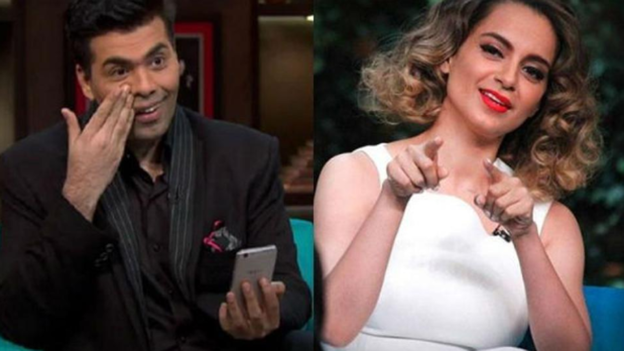 Karan Johar takes a dig at Kangana Ranaut, says he doesn't