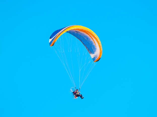 Paraglider survives mid-air collision and freezing night on